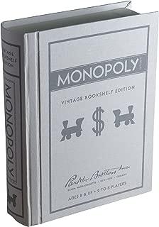 Monopoly Vintage Bookshelf Edition