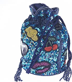 From St Xavier Women's Icons Drawstring Bag, Multi Colour, One Size