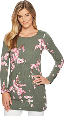Leanne Long Sleeve Slub Jersey Tunic