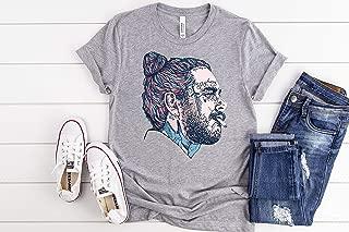 Post Malone Art Shirt - Post Malone Merch - Post Malone T shirts - Concert Shirts - Post Malone