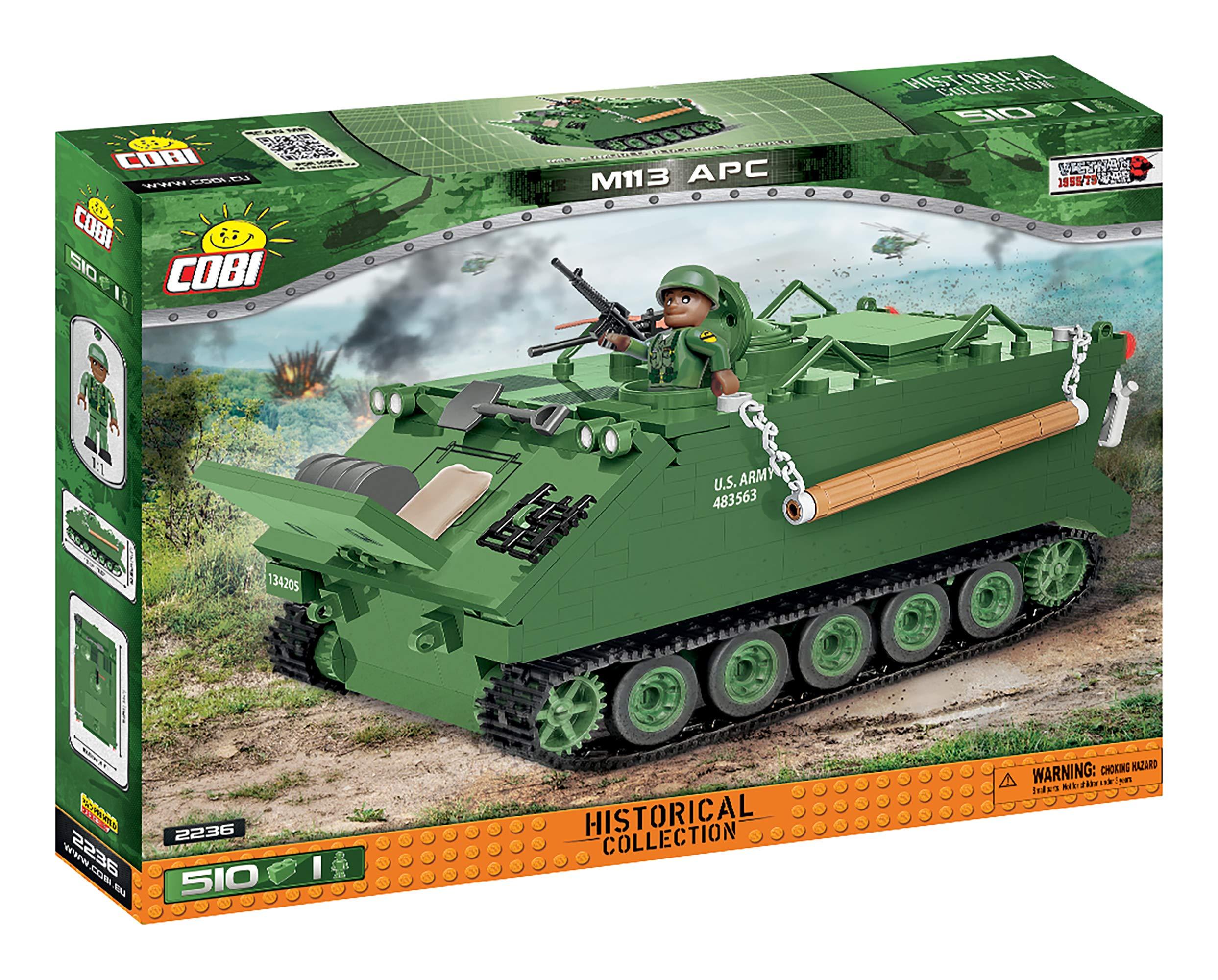 COBI Maqueta Tanque M113 APC. Historical Collection. Mod 2236.: Amazon.es: Juguetes y juegos