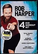 Bob Harper 4 DVD Workout Set