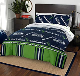 The Northwest Company NFL Seattle Seahawks Queen Bed in a Bag Complete Bedding Set #217730581