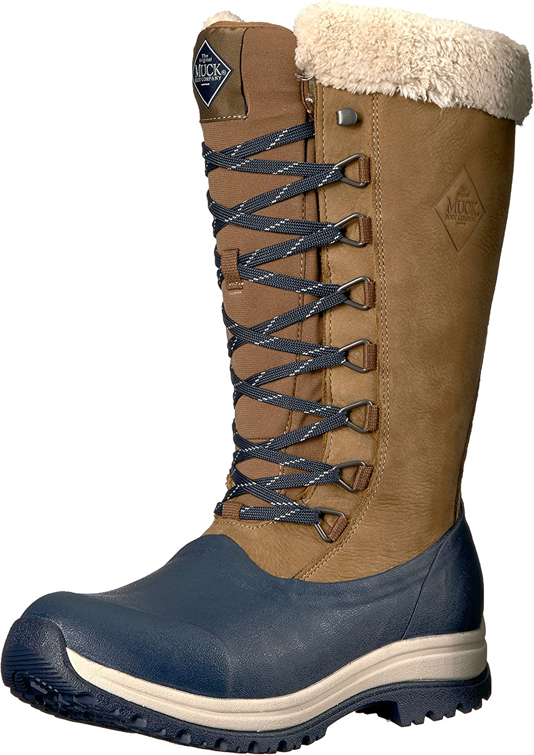 Muck Boot Womens Apres Lace Tall (13 ) Work Boot
