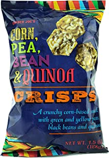 Trader Joe's Corn, Pea, Bean, Quinoa Crisps (8 Pack)