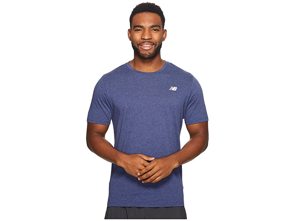 New Balance Heather Tech Short Sleeve (Pigment) Men