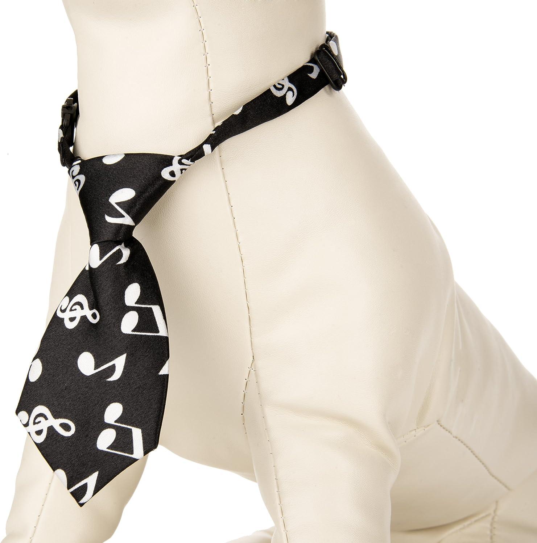 CueCuePet Neck Tie Collar, Music, small