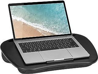 LapGear Mesa de colo Mydesk com dispositivo Ledge e suporte de telefone – Preto – Serve para laptops de até 15,6 polegadas...