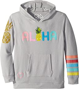 Chaser Kids Love Knit Aloha Pina Pocket Hoodie (Little Kids/Big Kids)