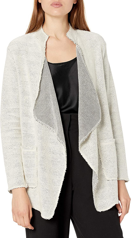 b new york Women's Long Sleeve Open Draped Cardigan