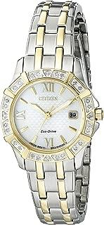 Citizen Women's Eco-Drive 26mm Two-Tone Diamond Watch