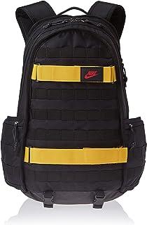 Nike Unisex-Adult Backpack, Black/Red - NKBA5971