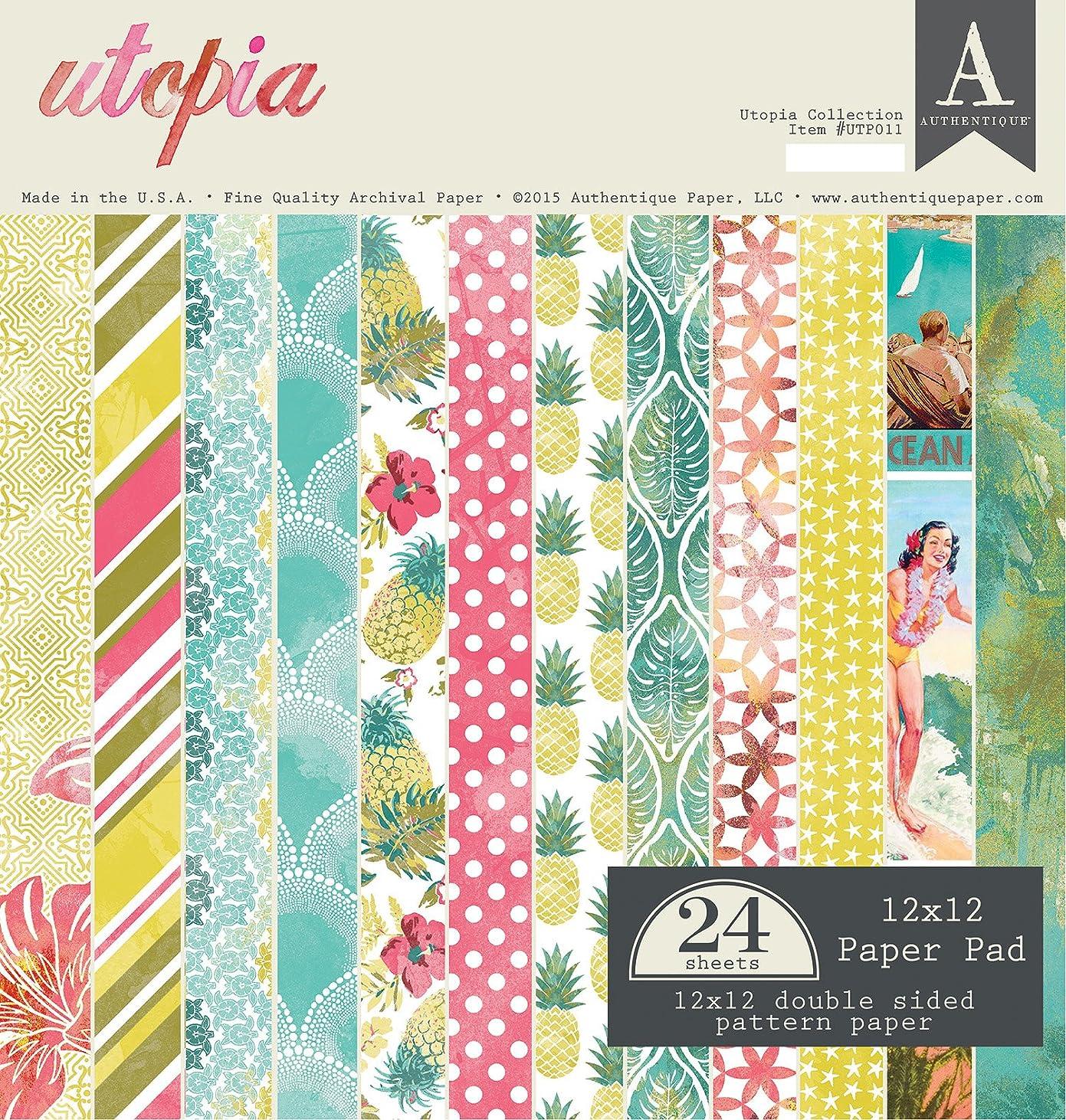 Authentique Paper Utopia 12x12 Paper Pad spvwf708181