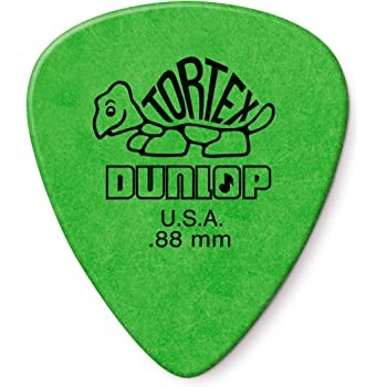 Player/'s Pack 0.88 mm 12 pcs. green DUNLOP Tortex Flow Standard Picks
