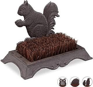 in legno KEESIN Spazzola per lucidare le scarpe setole in crine di cavallo Hellbraun 5stk