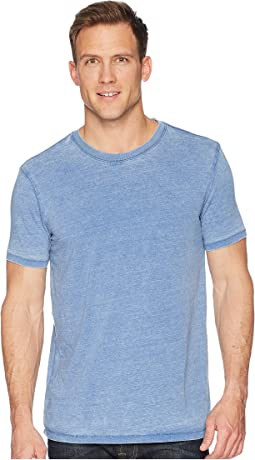 Lucky Brand Venice Burnout Crew Neck Tee