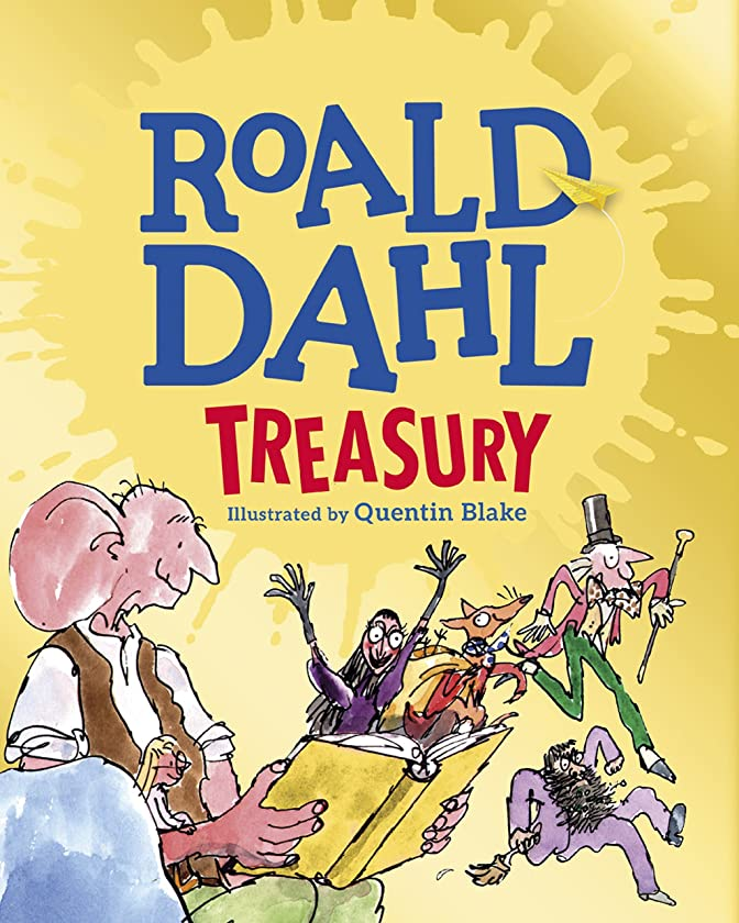 寝るインシデント鮮やかなThe Roald Dahl Treasury (Dahl Fiction) (English Edition)