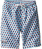 Toobydoo - Escher Swim Shorts (Infant/Toddler/Little Kids/Big Kids)