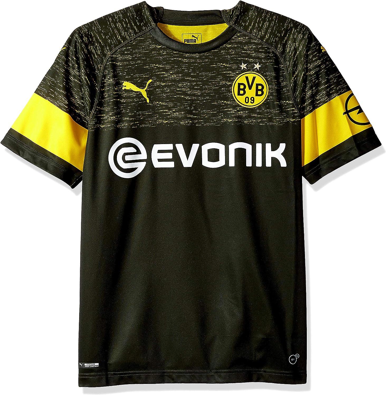 PUMA BVB Away Shirt Replica with Evonik Logo Camisa para Hombre