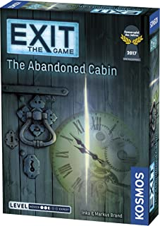 Exit The Game The Abandoned Cabin Stratergy Game