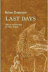 Last Days Kindle Edition
