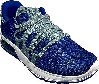 Athletics Works Boys Youth O2 Air Sneaker Blue & Grey