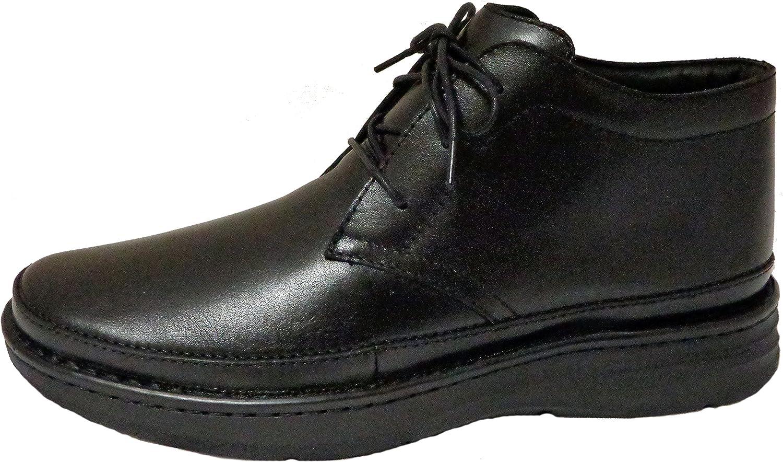 Drew Shoe Popular overseas gift Men's Keith Boots 16 W Black Leather