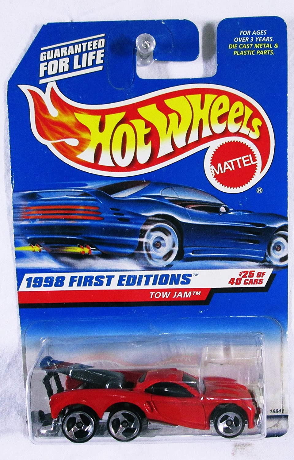 Hot Wheels - 1998 First Editions Tow #25 of Ranking Super sale TOP19 Red 40 Jam C