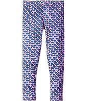 Striped Whale Knit Leggings (Toddler/Little Kids/Big Kids)