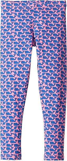 Striped Whale Knit Leggings (Toddler/Little Kids/Big Kids)