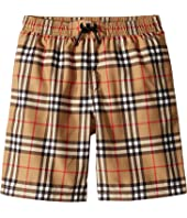 Burberry Kids - Galvin Check Swim Shorts (Little Kids/Big Kids)