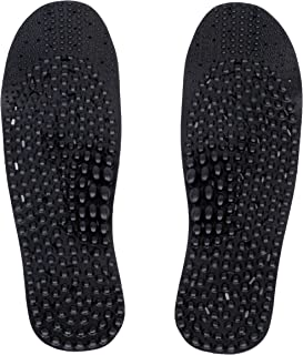 Nature In Hand Charcoal Anti Ordor Acupuncture Foot Massage Insoles (Trim to Fit: men's size 6-10/ women's size 7-11)