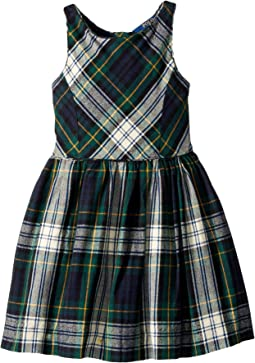 Polo Ralph Lauren Kids - Tartan Fit-and-Flare Dress (Little Kids)