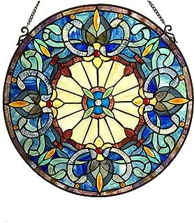 Chloe Frances Glass Window Panel, One Size, Multicolor
