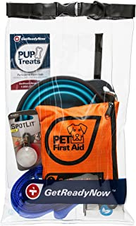 GETREADYNOW Pups & Peeps Emergency Survival Kits - Essential First Aid + Deluxe Supplies to Keep Your Four-Legged Friend Safe While on The Road, Camping, Hiking, or Unexpected Dog Park Emergencies