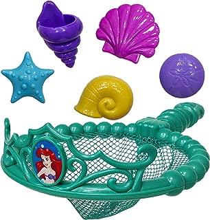 SwimWays Disney Princess Ariel Tiara Net - Swimming Dive and Catch Games - Mermaid Pool Toys