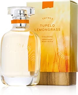 Thymes - Tupelo Lemongrass Cologne - Fresh and Energizing Citrus Fragrance - 1.75 oz