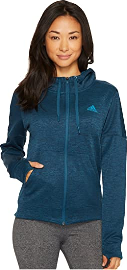 adidas - Team Issue Fleece Full Zip Hoodie