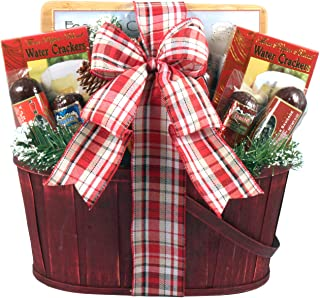 Gift Basket Village Meat Lovers Basket, Gourmet Gift Basket for Sausage Lovers with Salami, Summer Sausage, Gourmet Cheeses, Crackers & More, 9 Lb
