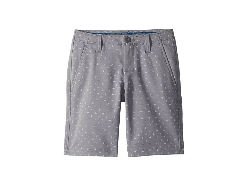 Under Armour Kids Match Play Printed Shorts (Little Kids/Big Kids) (Zinc Gray/Moroccan Blue/Zinc Gray) Boy's Shorts