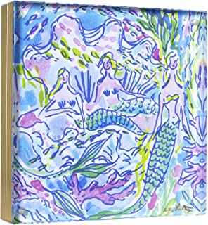 Lilly Pulitzer Acrylic Picture Frame-Gold