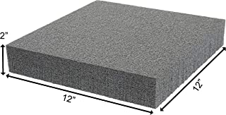 Case Club Customizable Polyethylene/Polyurethane/Convoluted Foam 12 x 12 Inches
