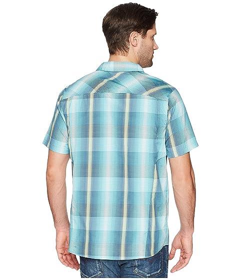 Columbia Silver Plaid Teal Multi Ridge® Multi Plaid S S Camisa OBHFqOZn
