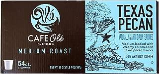 HEB cafe ole Texas pecan single serve coffee 54 count