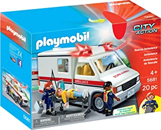 Playmobil City Action Rescue Ambulance Building Toy - (4 Years & Above)