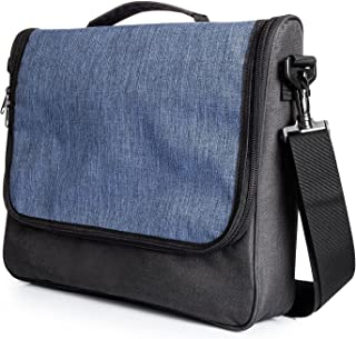 Messenger Travel bag for Nintendo Switch System, iDudu Portable Protective Case Adjustable Shoulder Bag(black)