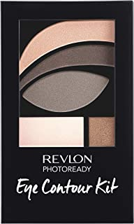 Revlon PhotoReady Eye Contour Kit, Eyeshadow Palette with 5 Wet/Dry Shades & Double-Ended Brush Applicator, Metropolitan (...