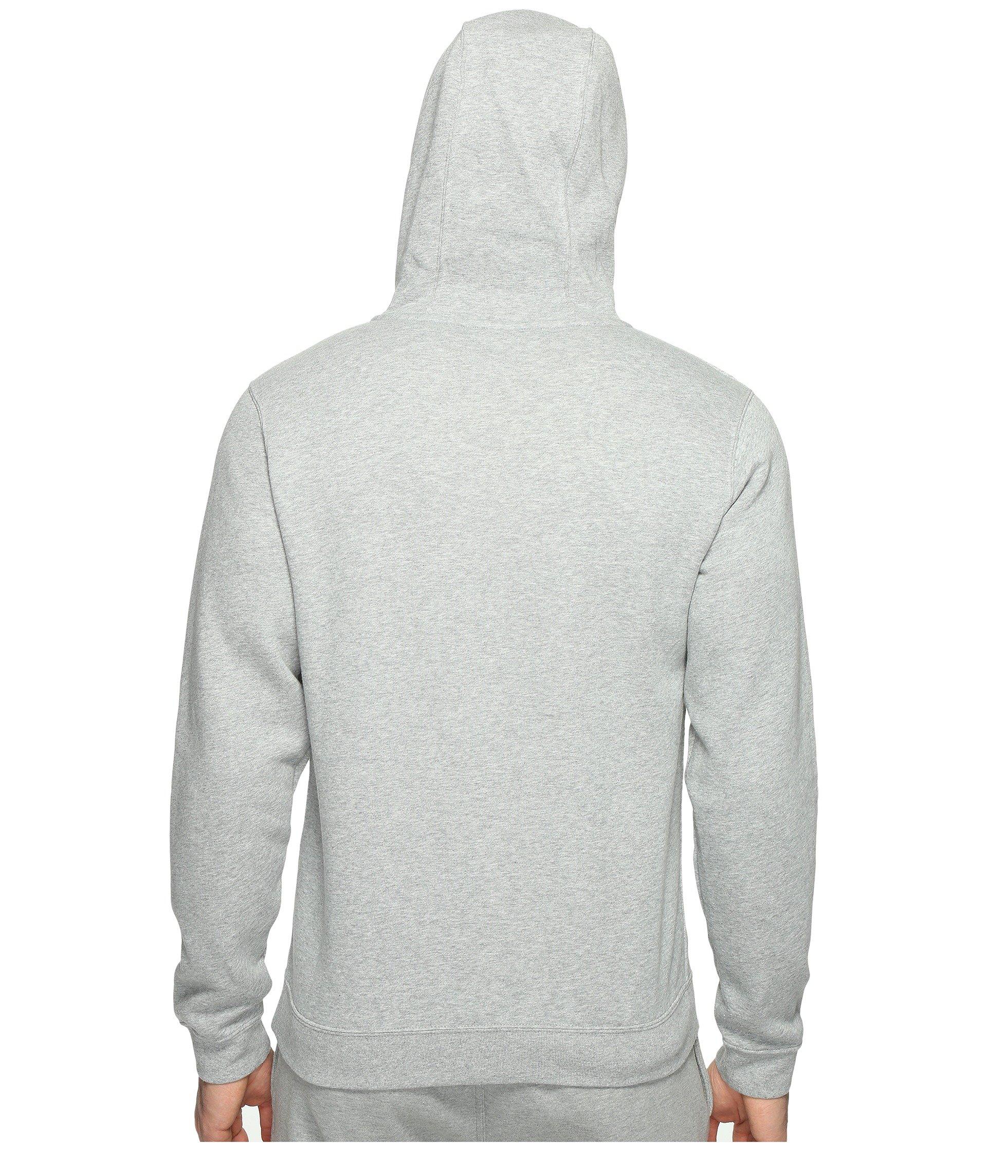 zip Dark Grey Fleece Heather white Nike Hoodie Full Heather Club dark nFZwXgH