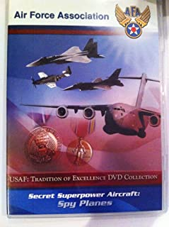 Air Force Association Air DVD Collection - Secret Superpower Aircraft Spy Planes