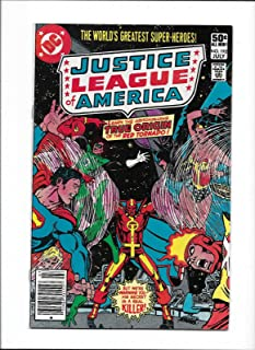 JUSTICE LEAGUE OF AMERICA #192 [1981 VG-FN] TRUE ORIGIN OF RED TORNADO